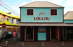 Loulou bageri i helgonet Gilles, La Reunion Island, Frankrike Arkivfoto