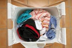 Loundry basket Royalty Free Stock Image