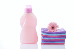 Loundry, cleaning products Royalty Free Stock Photo