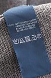 Loundry symbol. As close up Royalty Free Stock Photos