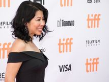 Loung Ungat at the world Premiere of `First They Killed My Father` Royalty Free Stock Image