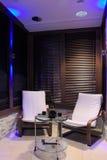 Lounge. Spa-salon interior, lounge zone Stock Images