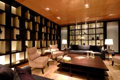 Lounge. Luxurious Lounge and Waiting Area Royalty Free Stock Photos