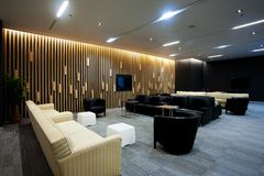 Lounge. Interior of a waiting room Stock Images