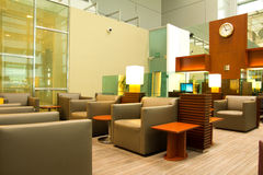 Lounge. Picture of modern interior airport lounge Stock Photography