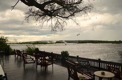 Lounge along the Zambezi Stock Photography