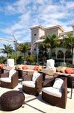 Lounge area at luxury hotel Royalty Free Stock Photo