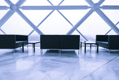 Lounge area of modern building Stock Images