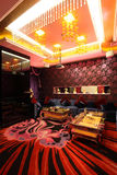 Lounge bar. Photograph of the modern lounge area of bar Royalty Free Stock Photography