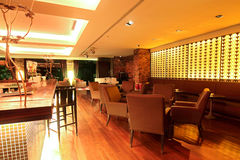 Lounge Bar. Photo of a modern lounge bar Royalty Free Stock Photos