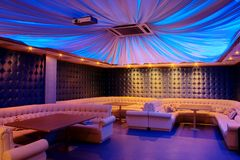 Lounge bar. Photograph of the modern lounge area of bar Stock Images