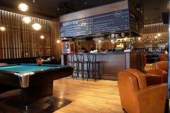 Lounge bar interior, Penta Hotel, Beijing. Lounge bar interior, Penta Hotel at Chongwenmenwai Street, Chongwenmen, Dongcheng District in Beijing, China Stock Photography