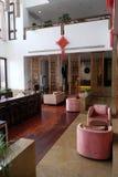Lounge bar interior, Yuehe Hotel in Jiaxing, China. Lounge bar interior, Yuehe Hotel, Nanhu Qu, Jiaxing Shi, Zhejiang Sheng in Jiaxing, China Stock Image