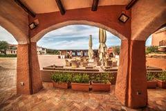 Lounge bar in Porto Cervo Stock Photo