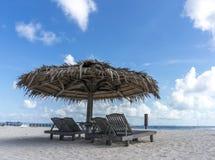 Lounge beach Stock Photography