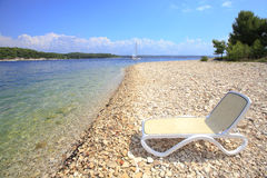 Lounge chair Royalty Free Stock Photos