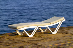 Lounge chair Stock Image