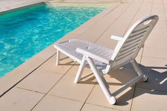 Lounge chair for relaxation Royalty Free Stock Image