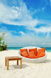 Lounge chair Royalty Free Stock Images