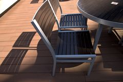 Lounge chairs Stock Photography