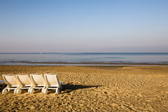 Lounge Chairs Royalty Free Stock Photography