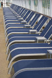 Lounge chairs stock image