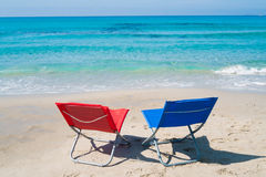 Lounge chairs Royalty Free Stock Image