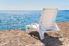 Lounge at coastline. Lounge at summer coastline. Rest royalty free stock image