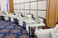 Lounge of large meeting room Royalty Free Stock Photo
