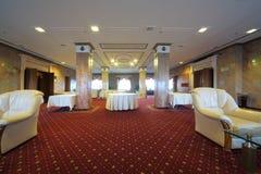 Lounge op 14de verdieping van President Hotel royalty-vrije stock foto's