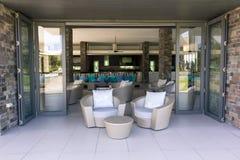 Lounge restaurant Stock Photo