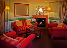 Lounge room Stock Images