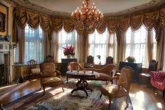 Lounge room at Casa Loma Toronto Stock Photography