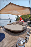 Lounge of sailboat Royalty Free Stock Photos