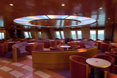 Lounge from the ship Stock Photo