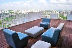 Lounge in Singapore Royalty Free Stock Image