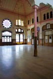 Lounge of Sirkeci railway station stock images
