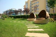 Lounge sofas Royalty Free Stock Photo