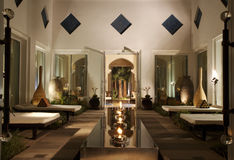lounge spa Στοκ Φωτογραφίες