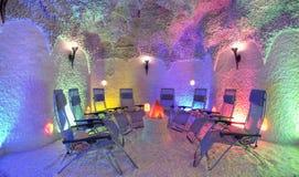 lounge stylizujący jaskini. Fotografia Stock