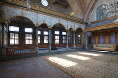 Lounge in Topkapi palace Royalty Free Stock Photo