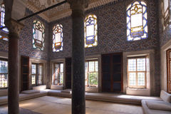 Lounge in Topkapi palace Royalty Free Stock Photography