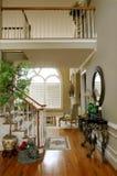 Lounge van Huis Upscale Royalty-vrije Stock Foto's