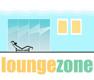 Lounge Zone flat interior Stock Photos