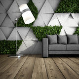 Lounge zone in modern interior Royalty Free Stock Images