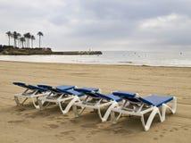 lounger пляжа Стоковое Изображение RF