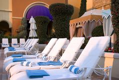 Lounges and Cabana Stock Images