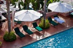 Lounges, La Jolla, California Royalty Free Stock Image