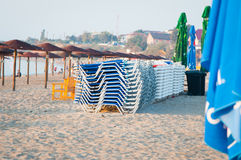 Lounges in piles Royalty Free Stock Photography