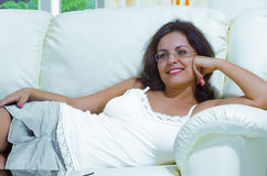 Lounging Stock Images